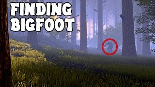 Finding BigFoot - THIS GAME IS WHAT THE EDGE OF YOUR SEAT WAS MADE FOR! ( Finding BigFoot Gameplay )