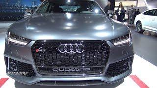 2018 Audi RS7 - Exterior ANd Interior Walkaround - LA Auto Show 2017