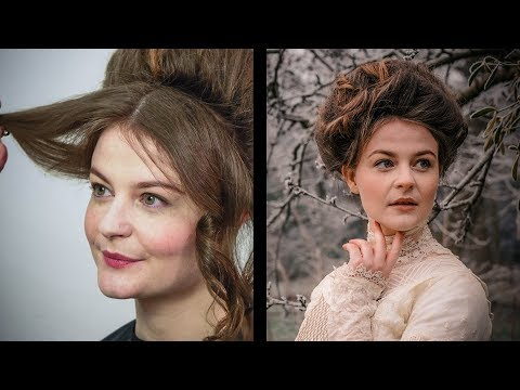 Historical Styles - 'Gibson Girl' Edwardian Hair and Make-up Tutorial Part 2