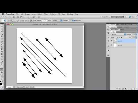 Download The Line Tool - Photoshop Tutorial HD Mp4 3GP Video and MP3