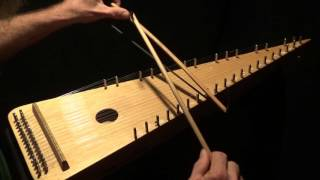"""""""Greensleeves"""" on Bowed Psaltery"""