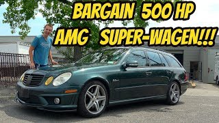 I Bought the Cheapest Mercedes E63 AMG Wagon in the USA-- and IT BROKE DOWN