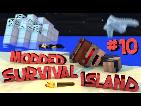 Survival Island Modded - Minecraft: Ding DONG Part 10