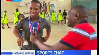 Parabadminton Athletes in Kenya | Morning Express Sports Chat