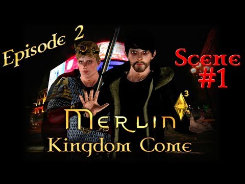 [Sims 3] Merlin 6: Kingdom Come | Ep. 2: A King Without A Kingdom | #1 [Subtitles]