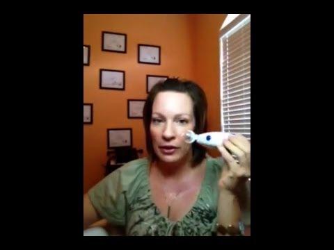 Mask sa isang paliguan ng acne sa mukha