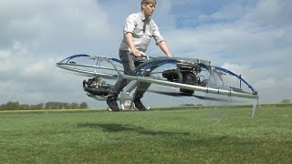 Homemade Hoverbike Video