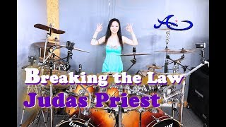 Judas Priest - Breaking The Law drum cover by Ami Kim(#59)