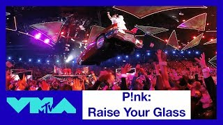 P!nk 360° Performance of 'Raise Your Glass' | 2017 VMAs | MTV