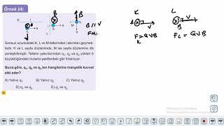Eğitim Vadisi 11.Sınıf Fizik 21.Föy Elektrik ve Manyetizma 2 (Manyetik Tork) Konu Anlatım Videoları