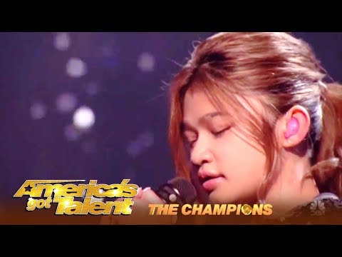 Angelica Hale Is  Ready To WIN AGT The Champions! | The Finals (видео)
