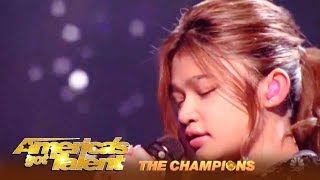 Angelica Hale Is  Ready To WIN AGT The Champions! | The Finals