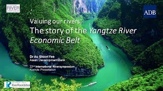 Valuing our Rivers: The story of the Yangtze River Economic Belt