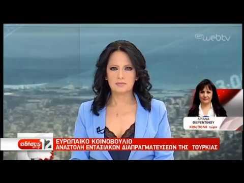 Αναστολή ενταξιακών διαπραγματεύσεων της Τουρκίας στην ΕΕ | 21/02/19 | ΕΡΤ