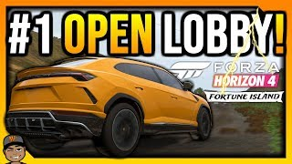 Forza Horizon 4 Live: Fortune Island Open Lobby! + All DLC Cars!