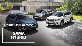 Gama Subaru Hybrid desde 229€/mes* Trailer