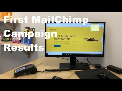 First MailChimp Campaign - Reviewing Results!