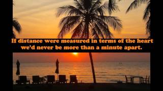 Best Quotes About Love And Distance Famous Quotes About Love And Distance