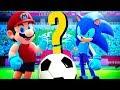 Mario Vs Sonic No Futebol Quem Melhor Mario E Sonic Nos