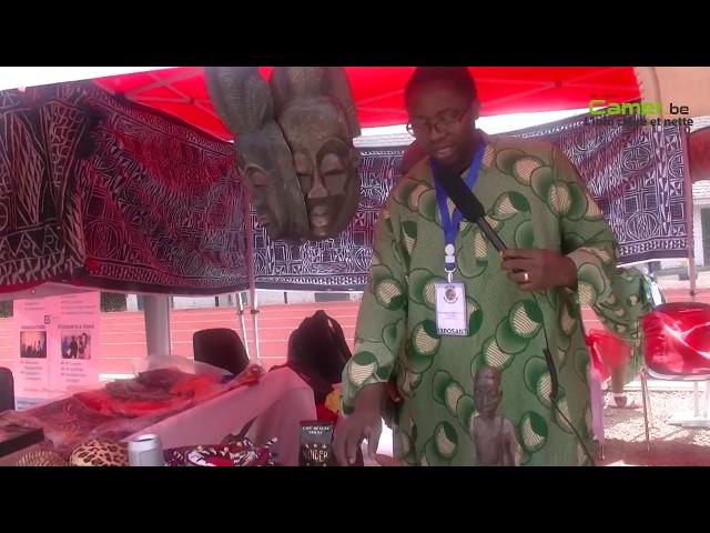 Les stands de la Menoua, APEDEF , et les Banen aux journées camerounaises de Belgique