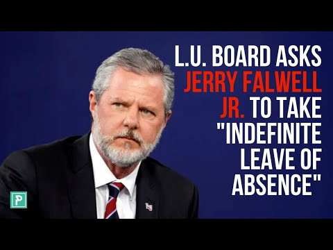 """Jerry Falwell Jr.Takes """"Indefinite Leave of Absence"""" From Liberty University – Lessons for Pastors"""