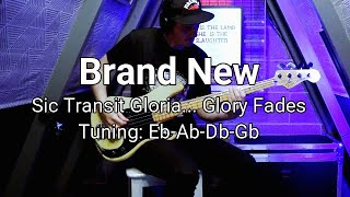 Brand New - Sic Transit Gloria... Glory Fades bass cover (with tab)