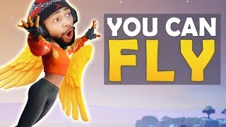 YOU CAN FLY IN FORTNITE!