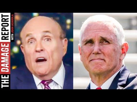 Giuliani & Pence Run From The Law