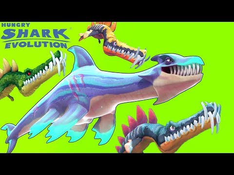 Download All 20 Max Level Sharks Hungry Shark Evolution Video 3GP