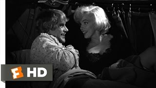 Some Like It Hot (3/11) Movie CLIP - Us Girls Should Stick Together (1959) HD