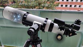 Unboxing and first impressions of the TecnoSky 102mm F7 APO refractor