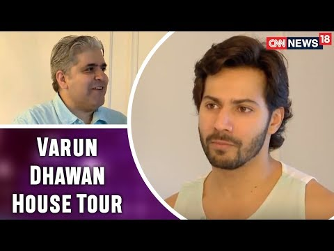Download Varun Dhawan Opens His House And Heart For Rajeev Masand | Exclusive Interview | CNN News18 HD Mp4 3GP Video and MP3