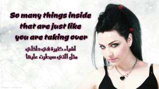 Evanescence   Taking Over Me   مترجمة
