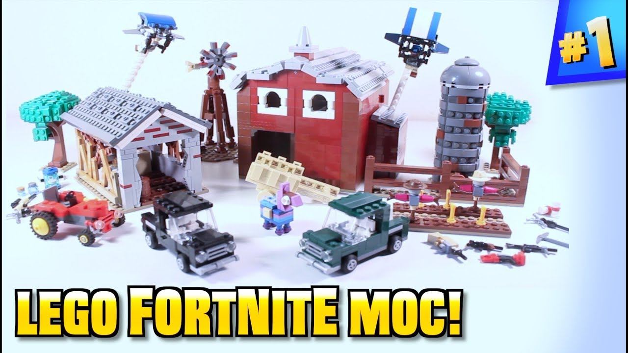 The Action Brick LEGO Fortnite Fatal Fields