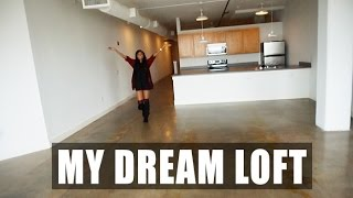 VLOG| Apartment Hunting - Finding My Dream Loft!