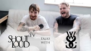 HILARIOUSSERIOUS interview with While She Sleeps