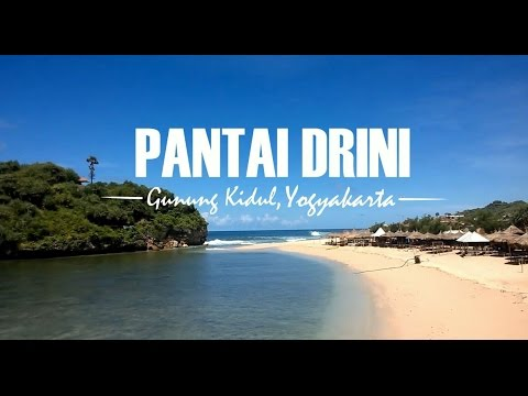 Pesona Keindahan Pantai Drini, Gunung Kidul, Yogyakarta