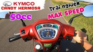 KYMCO CANDY HERMOSA 50cc   Trải nghiệm thực tế Xe Tay Ga cho Học sinh