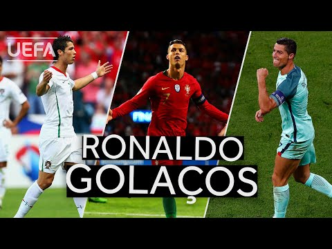 CRISTIANO RONALDO: Great PORTUGAL Goals