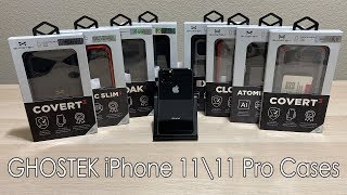 Ghostek iPhone 11  11 Pro Case Lineup - Review