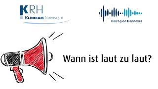 Wann ist laut zu laut? Auswirkungen von Lärm auf die Gesundheit