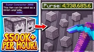 THIS CHEST HOLDS A MILLION ITEMS! | Minecraft Skyblock