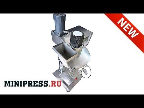 🔥Dosificador y máquina de llenado para polvos SP-12 extra video Minipress.ru
