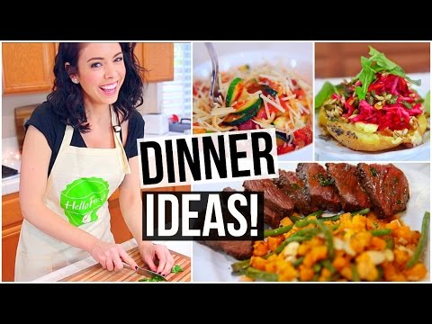 Video 3 EASY & HEALTHY DINNER IDEAS!