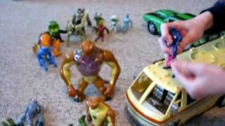 BEN10 & ALIENS vs VILGAX & GHOSTFREAK