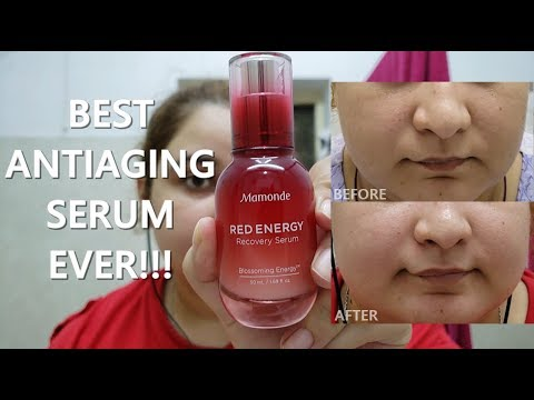 Red Energy Recovery Serum by Mamonde #3