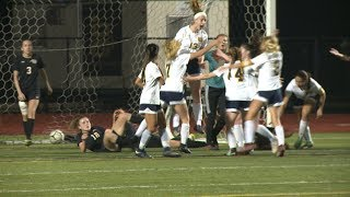 Highlights: Woodstock 1, Plainfield 0 in ECC girls' soccer final