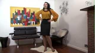 Sophia Delane - Figure hugging perfection!