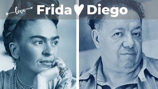 FRIDA Kahlo E DIEGO Rivera ❤️ Storie Damore Nellarte