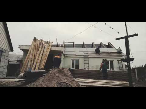 Реконструкция старой крыши в частном доме.